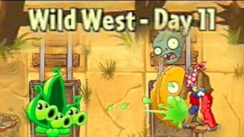 Wild West Day 11 - Plants vs Zombies 2