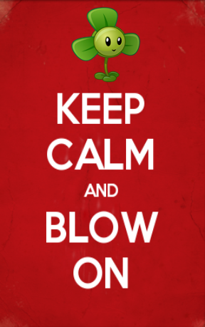 Blow on