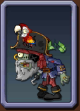 Pirate Captain Zombie Icon2
