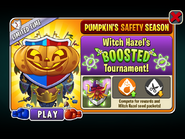 Pumpkin's Safety Season - Witch Hazel's BOOSTED Tournament