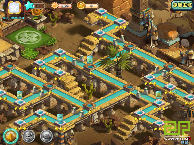 Image PVZOL Ancient Egypt Mapjpg Plants Vs Zombies Wiki - Map of egypt online
