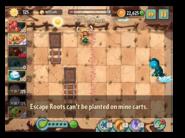 Escape Root message 1
