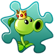 Peashooter Costume Puzzle Piece