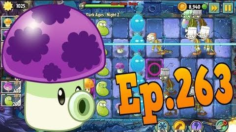 Plants vs. Zombies 2 Got a new Plant Puff-shroom - Dark Ages Night 2 (Ep