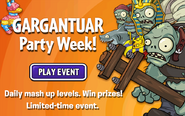 Gargantuar Party week ad English