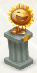Sunflower pedestal