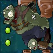 Un zombiestein en rompejarrones infinito