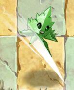 Spear-mint Leaving