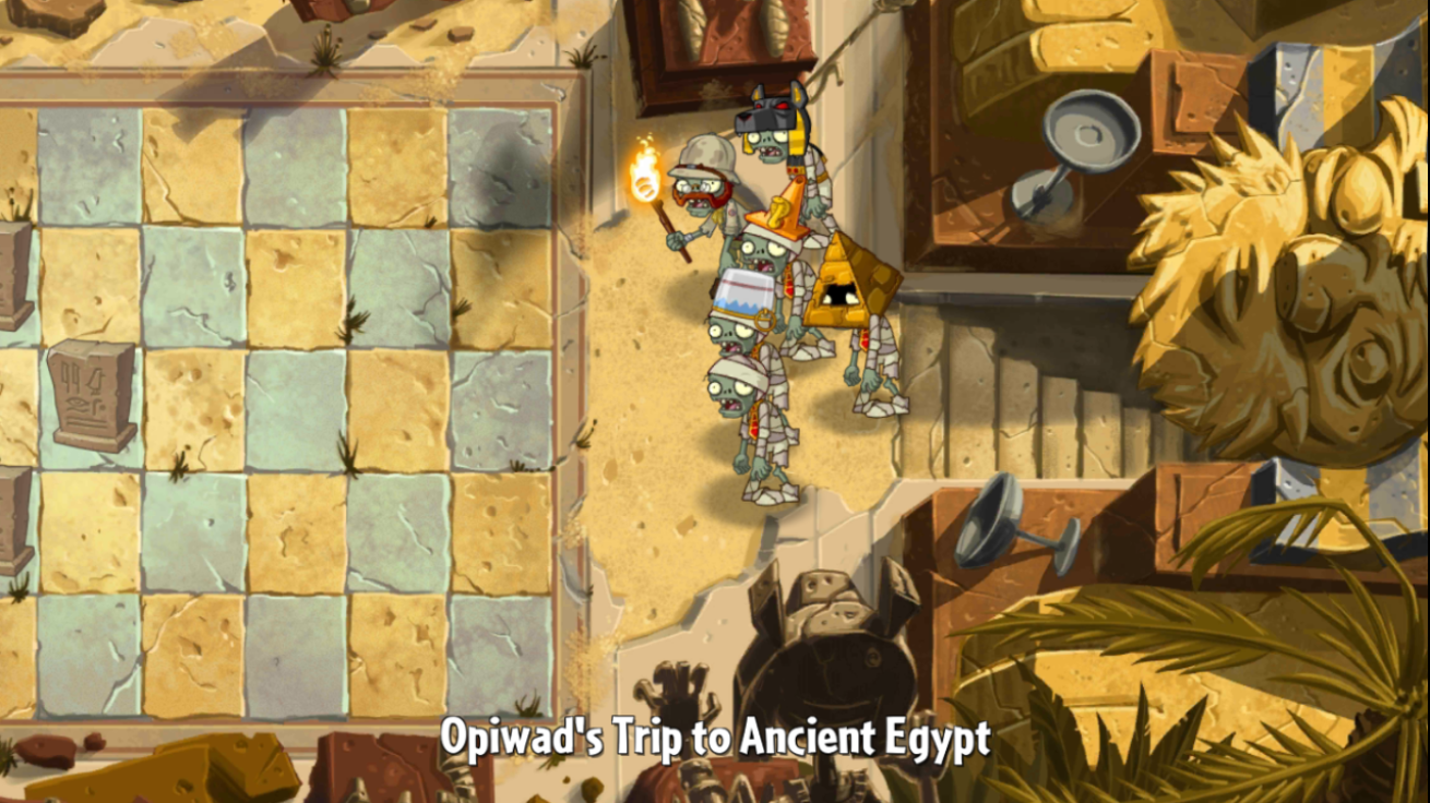 Ancient Egypt - Day 28 | Plants vs. Zombies Wiki | FANDOM powered by ...