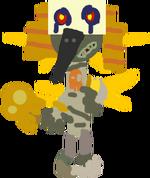 Fanmade Ra-Ven Hero Concept