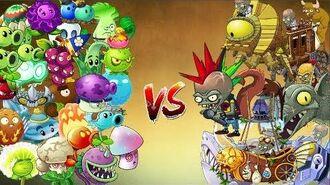 PvZ2 - Todos los Zomboss vs Todas las Plantas del juego - el nivel mas dificil de plantas vs zombis