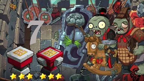 PvZ Online - Adventure Mode - Battle of the Great Wall 7