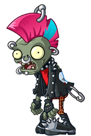 Official HD Punk Zombie