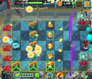 Two shield zombie forcefield