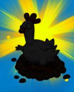 Zombie Chicken silhouette