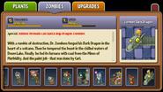 Zombot Dark Dragon Almanac Entry Part 2