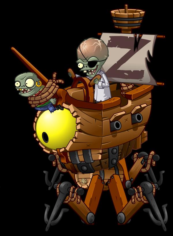 Zombot Plank Walker Plants Vs Zombies Wiki Fandom