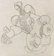 Zombot 1000 Sketch
