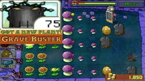 Plants vs. Zombies Adventure Got a Grave Buster level 2-3 Night (Android Gameplay HD) Ep