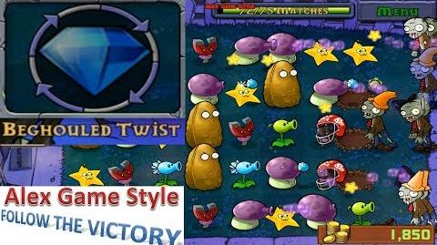Plants vs. Zombies - Mini Games - Beghouled Twist (Game Pack 5 - Unlocked for 50,000 coins) Ep