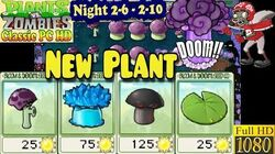 Plants vs. Zombies - New Night Plants - Night 2-6 - Night 2-10 - Classic PC HD (Ep