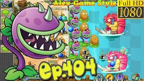 Plants vs. Zombies 2 Massive attack Zombies - Big Wave Beach Day 16 (Ep