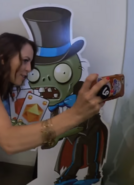 Card magician zombie