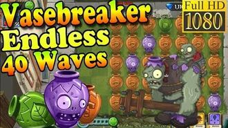 Plants vs. Zombies 2 (China) - Vasebreaker Endless 40 WAVES without using abilities (Ep.222)