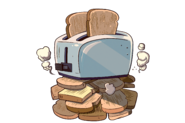 Tombstone headstonetile uncommon toaster