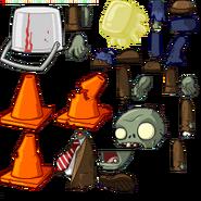 Zombie tutorialsprites