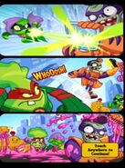 Zombopolis Apocalypse! middle comic strip