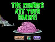 Defeated Gargantuar Pirate Ate Brains