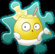 Pieza de puzzle Limon disfraz