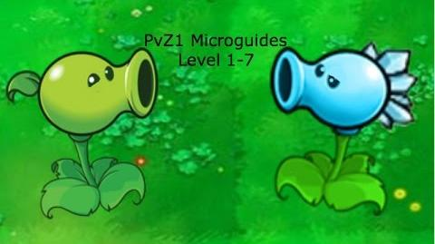 PvZ1 Microguides - Level 1-7