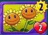 TwinSunflowerRedoneCard