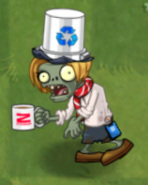 ZCorp Contractor Buckethead In-Game