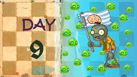 Android Plants vs. Zombies 2 - Big Wave Beach Day 9-0