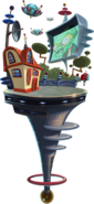 Far Future World Map Icon