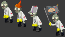 Lab zombies