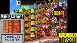 Plants vs. Zombies - Column Like You See 'Em Mini-Games - Classic PC HD (Ep