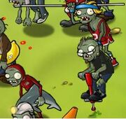 Vaulting Zombies