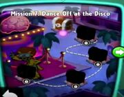 Dance off at the Disco map