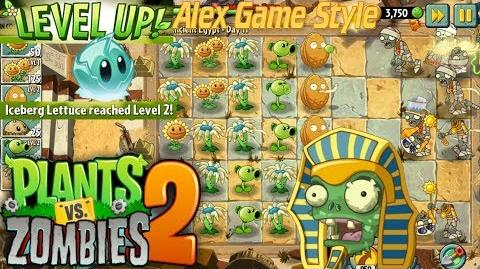 Plants vs. Zombies 2 Level UP Iceberg Lettuce Ancient Egypt Day 11 (Ep