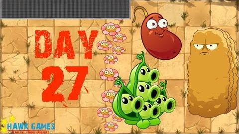 Plants vs Zombies 2 - Wild West - Day 27