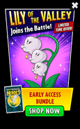 Lily of the Valley in Early Access Bundle Ads