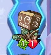 CardboardRobotZombieBullseye