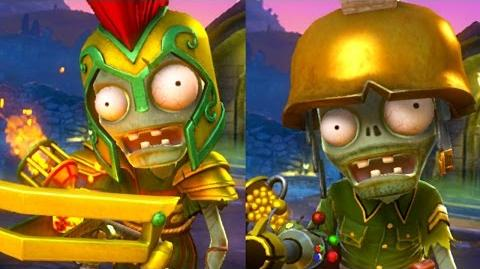 PVZ Garden Warfare- THE PYRE PRINCE Boss Fight! (GARDEN OPS Gameplay)