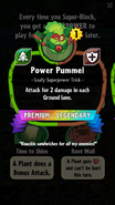 Power Pummel statistics