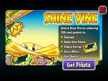 Shine Vine Ad