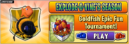Goldfish Epic Fun Tournament! Main Menu AD